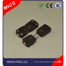 j type 3-way thermocouple connectors male and female