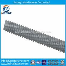 Galvanised carbon steel thread rod,hanger bolt