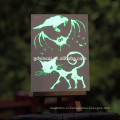 Светящиеся в темноте татуировки наклейки бумаги для продажи
