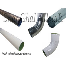 Automatic metal aluminium downspout roll forming machinery