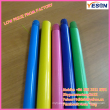 colorful painting wooden broom & brush & mop handle