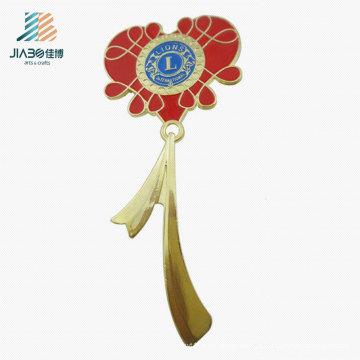 Pin da lapela da flor do logotipo feito sob encomenda do presente da promoção da fonte em ofícios do metal