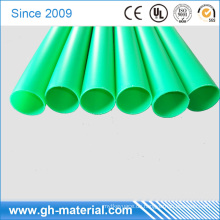 Klares hartes halbes steifes PVC 4.5mm Plastikvinyl-Rundrohr