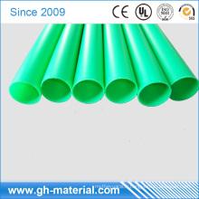 Tube rond en plastique rigide clair de PVC 4.5mm en vinyle