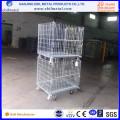Топ Продажа промышленного логистического средний складной контейнер провода/коробка для хранения