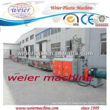 Tubulação plástica do HDPE PP de 20-110mm que faz a maquinaria