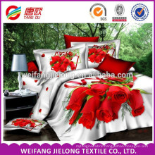 Fashion new design pretty elegant 100% spun cotton printed fabric