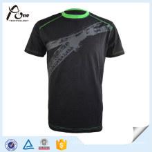 Plain Sports Sublimation T Shirt Running Wear