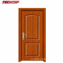 Tpw-081 Good Quality Economic Single Plywood Panel PVC Door Price