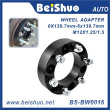 6 Holes Black Surface Wheel Adaptor as Auto Part
