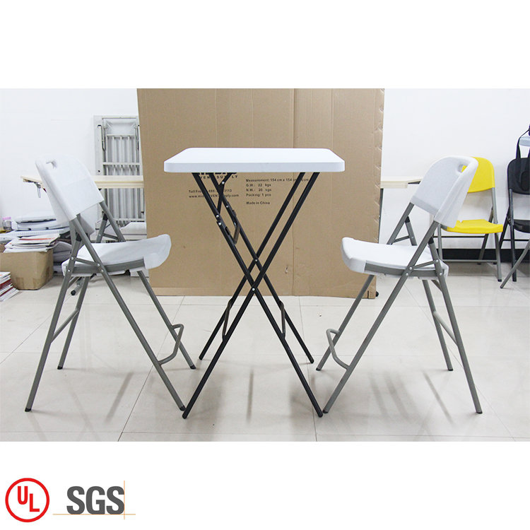 Outdoor White Folding Chair