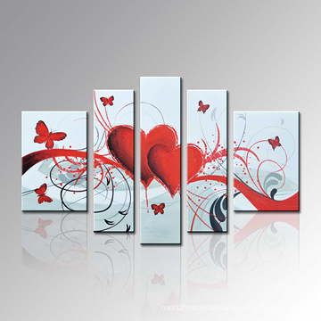 Handpainted Modern Oil Painting on Canvas for Wall Decoration (FL5-052)