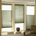 Cordless pleated blinds blackout