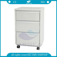 AG-BC003 avec roues meubles de chevet en bois utilisé cabinets médicaux
