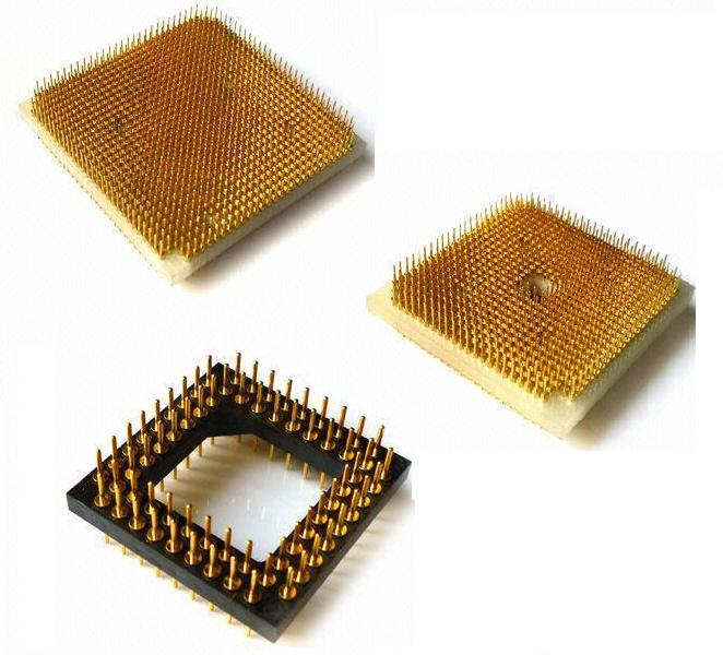 PGA Pin grid array sockets 1.27X1.27mm