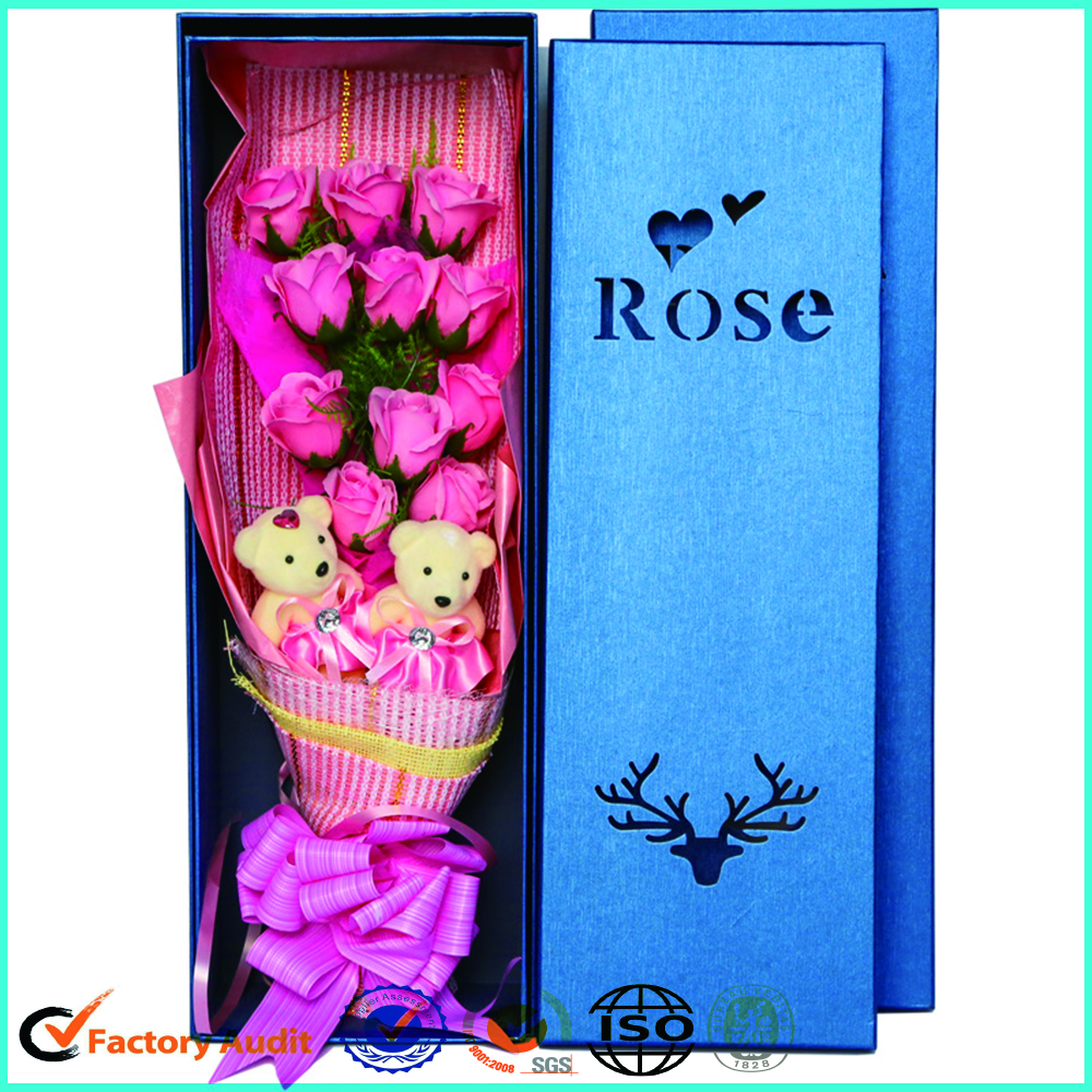 Cardboard Flower Box Packaging For Rose