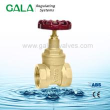 Latão água medidor portão válvulas europa, parafuso termina válvula de portão