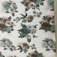 2016 Новая цифровая бархатная ткань для печати 330GSM