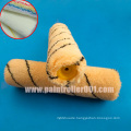 """9""""Arcyclic Fiber Paint Roller Cover with Black Strip of German Criteria"""
