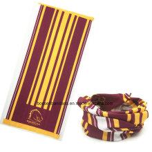 OEM Produce Customized Design Printed Promotional Polyester Multipurpose Headscarf