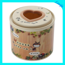 Notch Love Design Cartoon Tissue Boxes for Home (FF-5010-1)