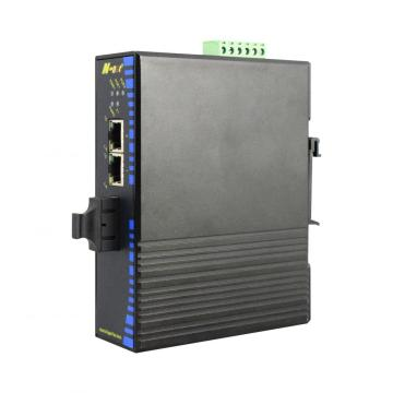 1Fiber 2RJ45 Gigabit-Ethernet-Switch in Industriequalität