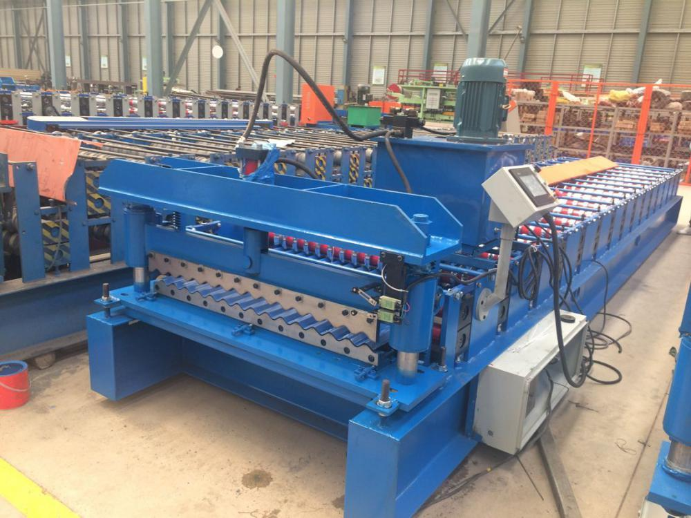 Corrugated roof sheet roll forming machine (1)
