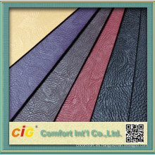 Moda cuero chino del PVC para asiento de coche