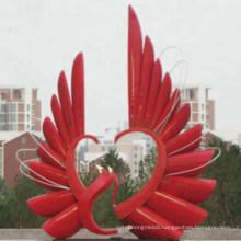 Garden Decoration Art Stainless Steel Metal Sculpture