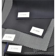 Tecido de sarja cinza worsted w70p30 popular para terno uniforme