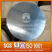 Alloy 1050 1060 1100 3003 Cercles en aluminium pour artisanat avec un bon filage