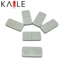 Weiße reine Melamin-Domino-Set-Fabrik