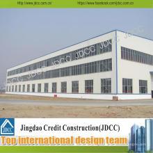 Мастерская фабрики и Пакгауза стальной структуры здания