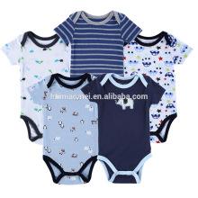 Baby wear jumpsuits baby bodysuits 100% cotton baby romper pattern