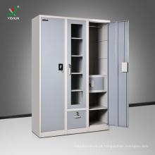 alta qualidade 3 porta pintura gaveta da índia almirah design com preço