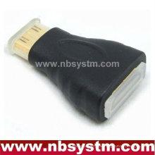 Mini-HDMI-Adapter A-Typ-Buchse zum Mini-C-Typ mit Staubkappe