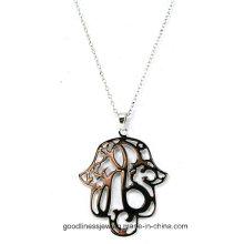 Spezielle Design und gut entworfene 925 Silber Blume des Lebens Silber Anhänger Großhandel P5015