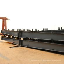Bâtiment préfabriqué en acier léger professionnel