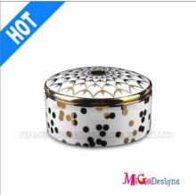 Fashion Wedding Gift Ceramic Jewelry Box