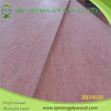 Bbcc Grade Popar ou madeira de lei núcleo 1220X2440X9mm Bintangor madeira compensada