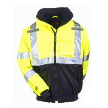 Men's Yellow YLW Waterproof Insulated Hi-Vis Jacket