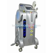 máquina láser para eliminar el vello y el tatuaje