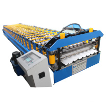 roofing galvanized corrugated steel sheet tile making machine color steel roll forming machine
