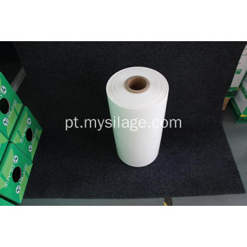 White Agricultural Silage Wrap Film Width500 Comprimento1800