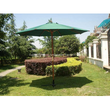 Patio Straight Common Cheap Wooden Sun Umbrella
