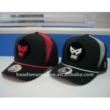 embroidery trucker hats with colorful string