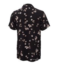 Мужская повседневная гавайская рубашка с цифровым принтом