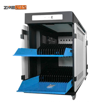 zmezme trade assurance high quality hot sale tablet pad Storage Charge Cart/Cabinet/Trolley For Education learning