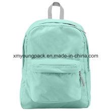 Diseño de moda mochila de escuela de poliéster 600d mochila