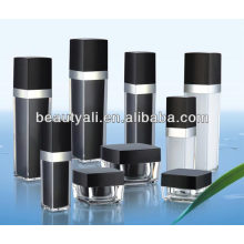 Square Cosmetic Packing Acrylic Jars 5g 10g 15g 30g 50g 100g